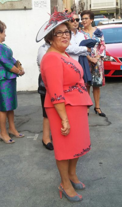 Confección a medida vestido