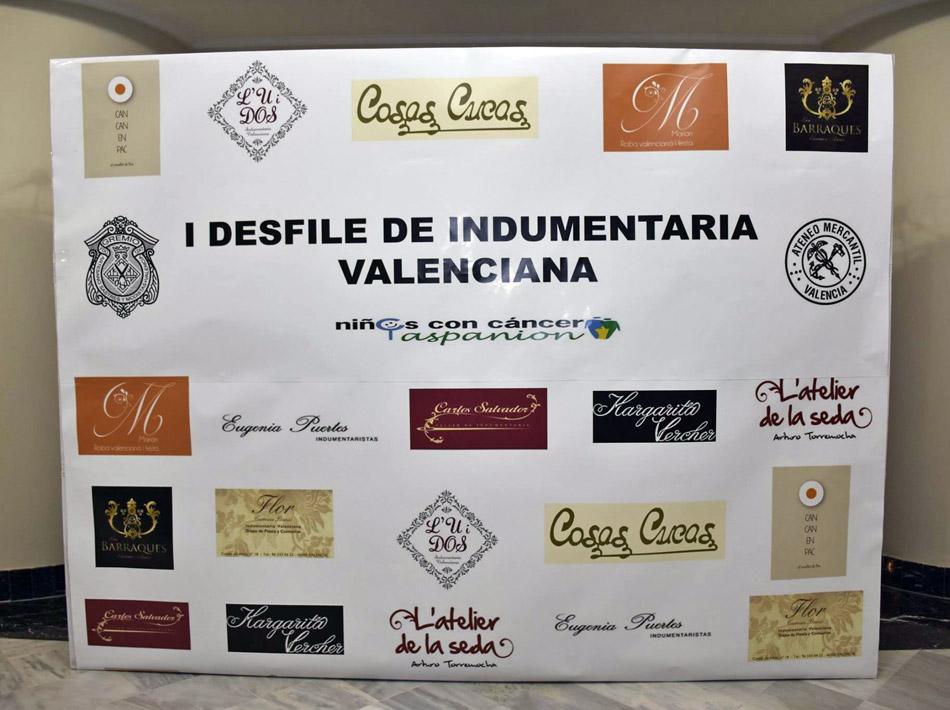 Cartel Desfile de Indumentaria Valenciana
