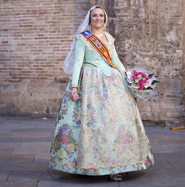 Fallera Mayor 2019 Falla Sueca Literato Azorín