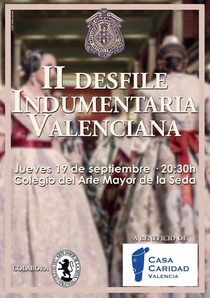 Desfile benéfico de Indumentaria Valenciana