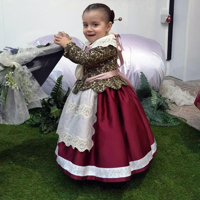 traje de valenciana infantil