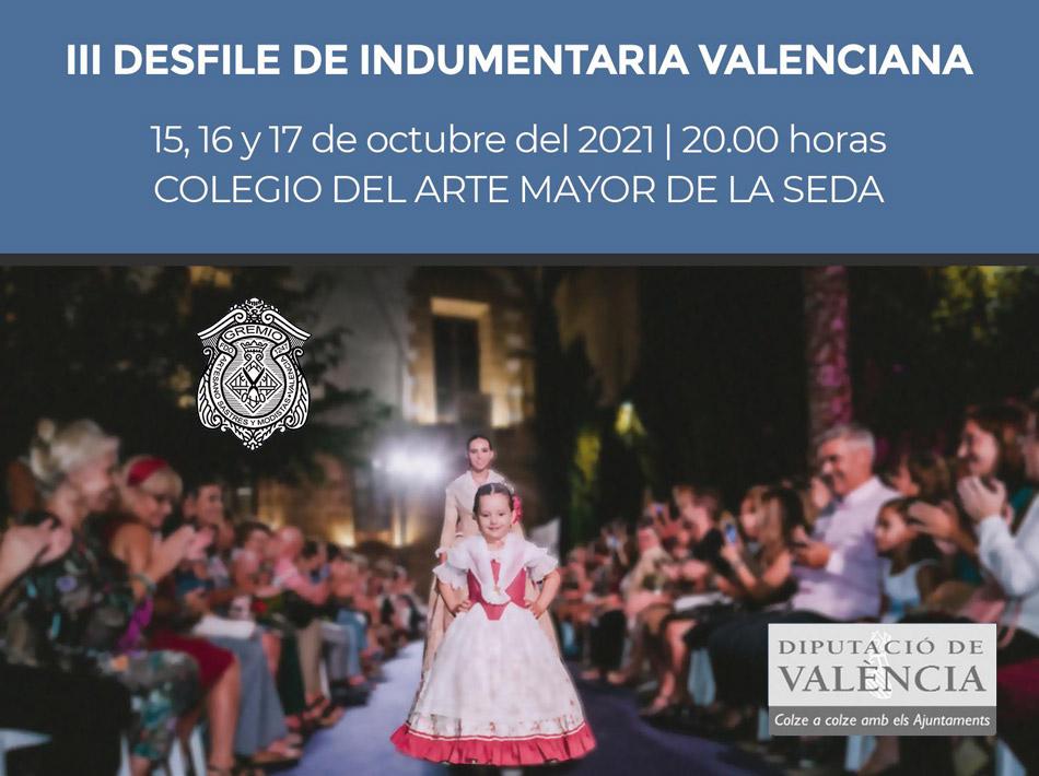 III Desfile de indumentaria valenciana